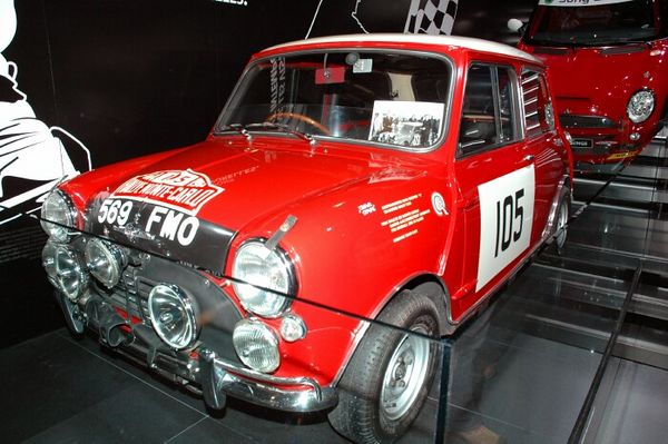 Mini Original Monte Carlo Rally