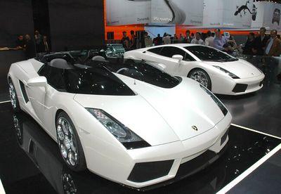 Lamborghini Concept S & Gallardo