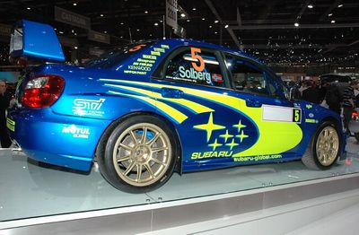Subaru World Rally car