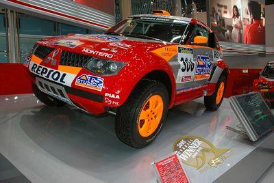 Mitsubishi - Dakar Rally Winner