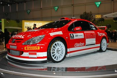 Peugeot 307 World Rally car