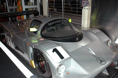 Sauber Mercedes Le Mans car