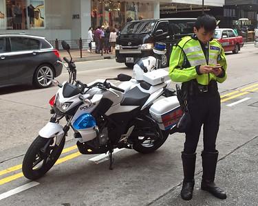 Honda CB 300 Police motorcycle