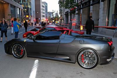 Ferrari parking