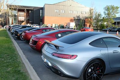 Arsenal supercar parking