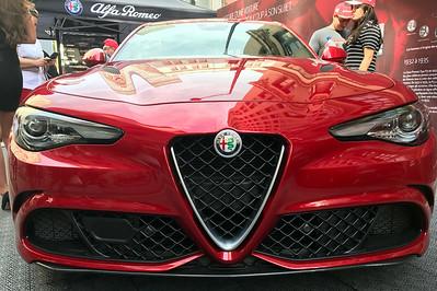 Alf Romeo Giulia front