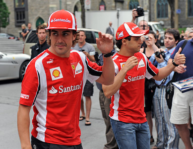 Alonso and Massa