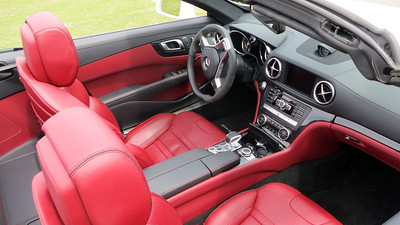AMG Mercedes SL 63 interior