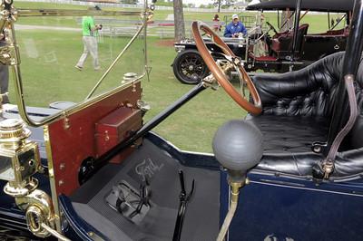 Pinehurst Concours Ford Model T interior