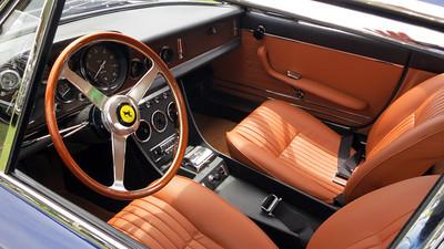 Pinehurst Concours Ferrari interior