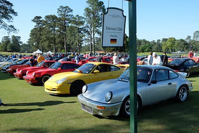 Porsche Club display