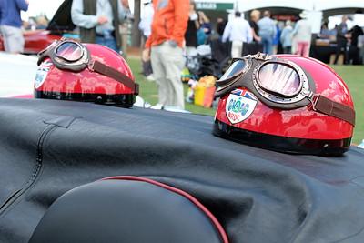 BRDC helmets goggles