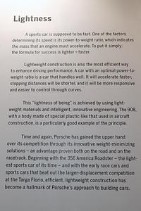 Porsche Museum Lightness