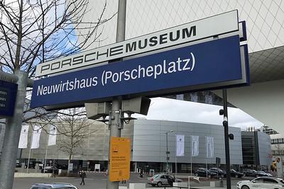 Porsche Museum S-Bahn stop