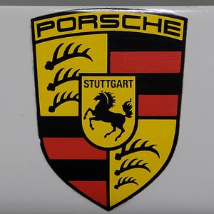 Porsche Museum badge