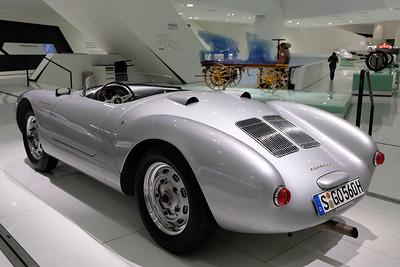 Porsche Museum 550 James Dean