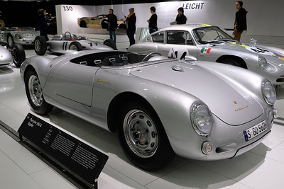 Porsche Museum 550 James Dean 03