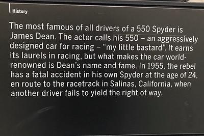Porsche Museum James Dean