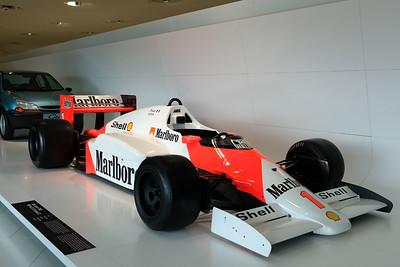 Porsche Museum McLaren Porsche F1