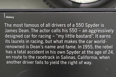 Porsche Museum 550 James Dean 02
