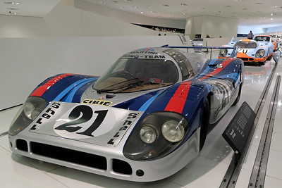 Porsche Museum 917 Martini
