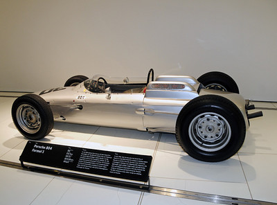 Porsche 804 F1 car Dan Gurney