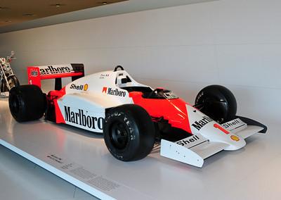 McLaren Porsche F1 car