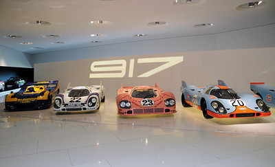 The legendary Porsche 917