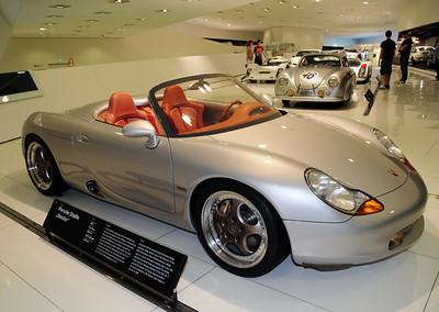 Porsche Boxster concept car