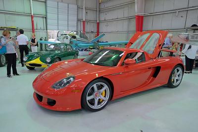 Hangar Porsche Carrera GT