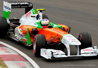 Paul di Resta at the Hairpin
