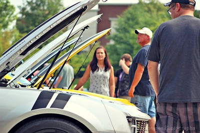 Cars n' Coffee in Franklin, Tennessee 8/6/16