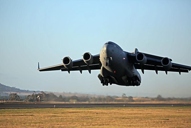RAAF C-17 Globemaster.
