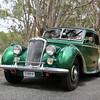 Australian landscapes and scenes -  Murray, Lake Hume region.  John & Brenda Gibbs's Riley at Albury.