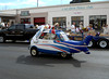 WILBER THE WHIRLIBIRD<br /> Here we have a 1958 BMW Isetta (originally an Italian design) modified into a helicopter, complete with functioning rotor. I don't recall the rotor spinning during the parade, though. Probably for safety reasons.