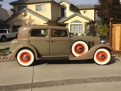 Our 1934 Lincoln 2 Window Town Sedan