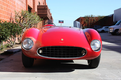 1948 Ferrari Spyder Corsa with body by Scaglietti