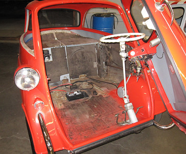 1957 Isetta. Come on in let's go for a ride.