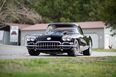 1958 Corvette Restomod Photoshoot - 3/29/17