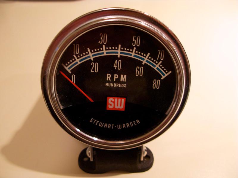 1224357255_K6yep L nos stewart warner tach impala tech stewart warner tachometer wiring diagram at virtualis.co