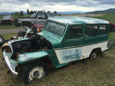 1962 Willys Wagon - dirtrider