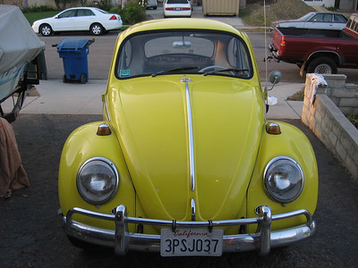 Front view of the Bug.