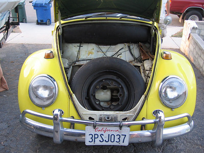 The front of the Bug. I will mount the battery charger in the front.