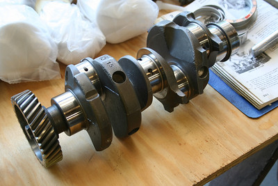 1500 crank, balanced and polished