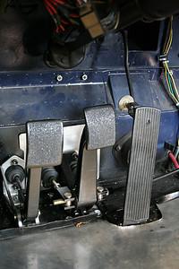 New pedal arrangment.