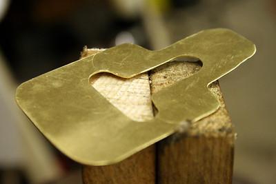 made of brass