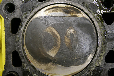#2 - greasy soot with valve impacts