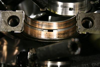 Center main bearing