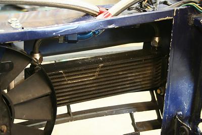 Oil cooler.  Custom(ized) fittings.