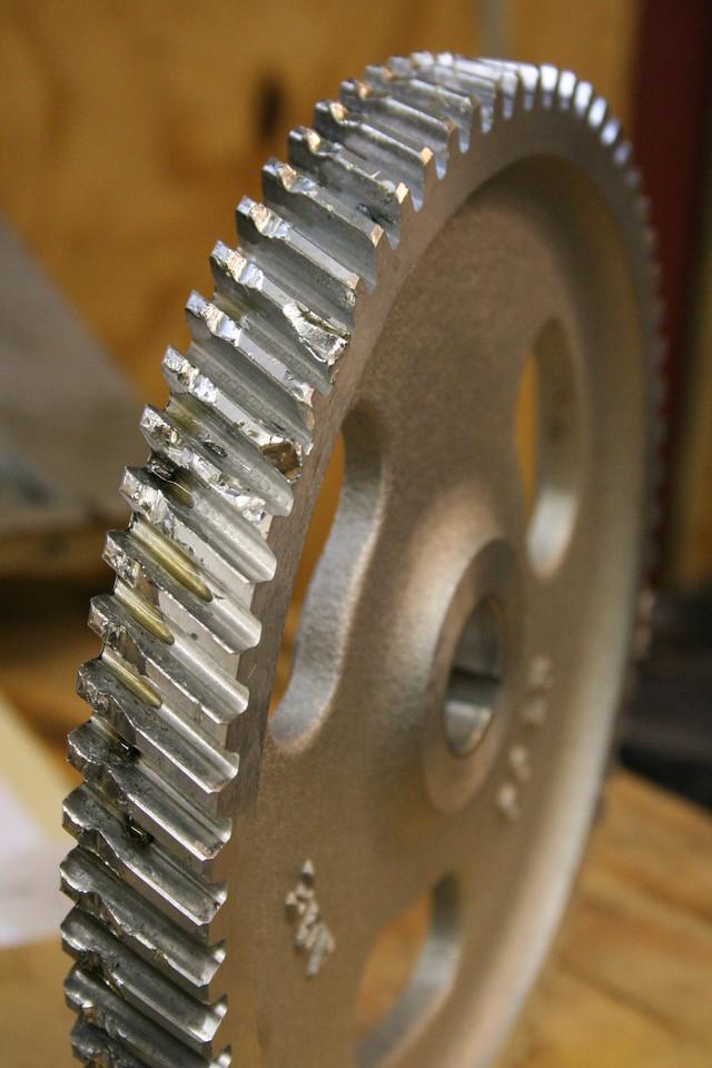 Camshaft gear (aluminum)